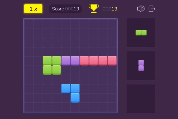 Block Champ 🕹️ 💡 | Free Puzzle Logic Browser Game - Image 1