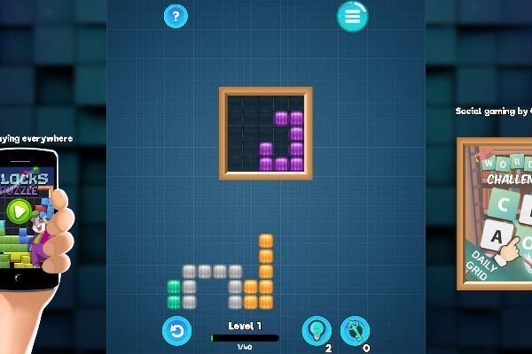 Blocks 🕹️ 💡 | Puzzle Logic Free Browser Game - Image 1