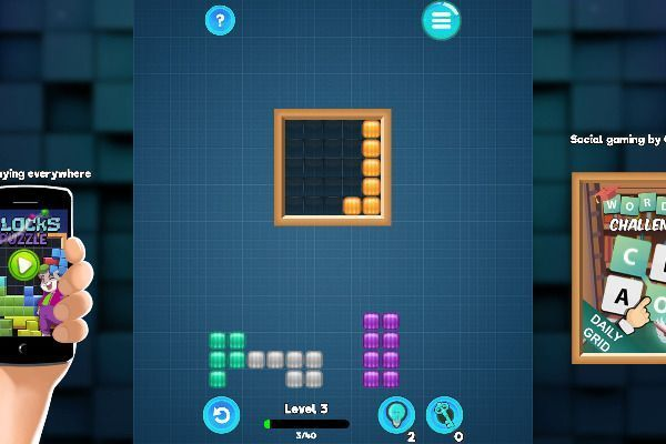 Blocks 🕹️ 💡 | Puzzle Logic Free Browser Game - Image 3
