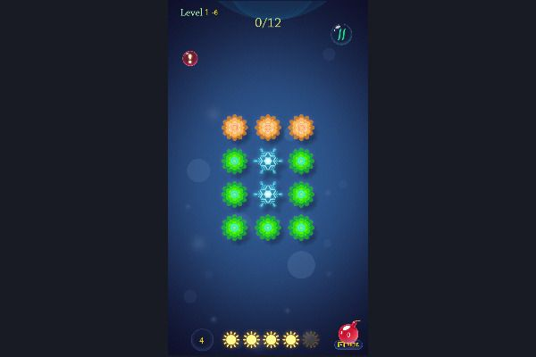 Flower saga 🕹️ 💡 | Free Puzzle Logic Browser Game - Image 3
