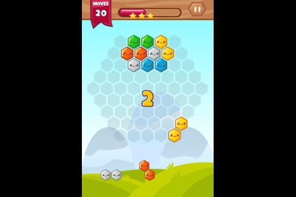 Hexa Blocks 🕹️ 💡 | Free Puzzle Logic Browser Game - Image 3