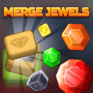 Gioca a Merge Jewels  🕹️ 💡