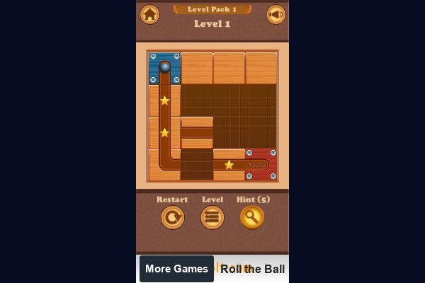 Roll the Ball 🕹️ 💡 | Free Puzzle Logic Browser Game - Image 1