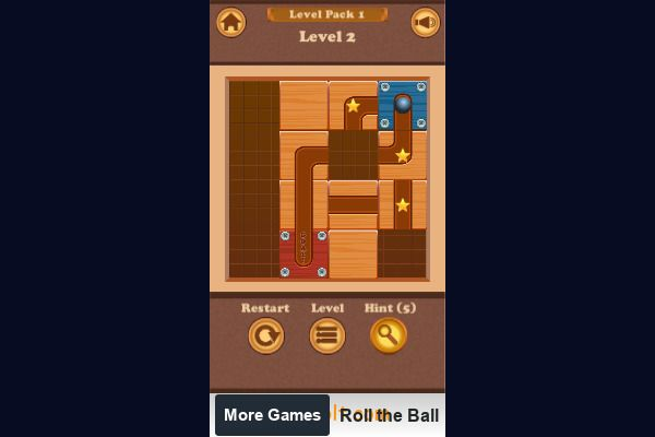 Roll the Ball 🕹️ 💡 | Free Puzzle Logic Browser Game - Image 2