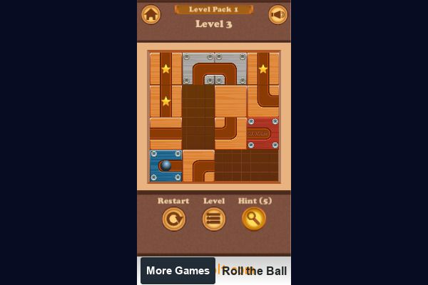 Roll the Ball 🕹️ 💡 | Free Puzzle Logic Browser Game - Image 3