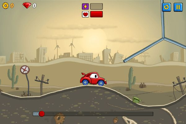 Car Eats Car 2 🕹️ 🏁 | Gioco per browser casual con fisica - Immagine 1