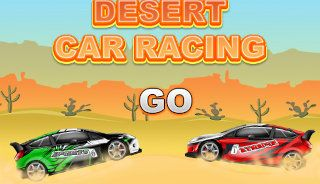 Desert Car Racing
