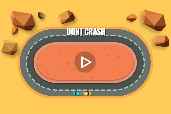 Dont Crash 🕹️ 🏁 | Gioco per browser di corse - Immagine 1