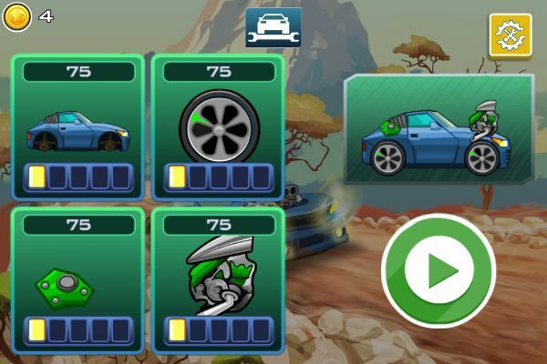 High Hills 🕹️ 🏁 | Free Racing Arcade Browser Game - Image 2