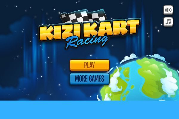 Kizi Kart 🕹️ 🏁 | Free Racing Skill Browser Game - Image 1