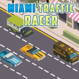 Play Miami Traffic Racer  🕹️ 🏁