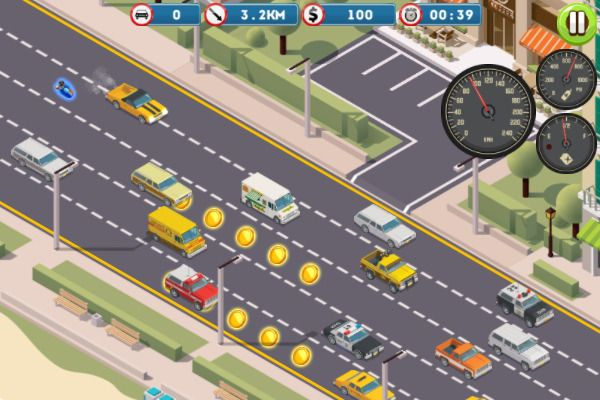 Miami Traffic Racer 🕹️ 🏁 | Free Casual Racing Browser Game - Image 3