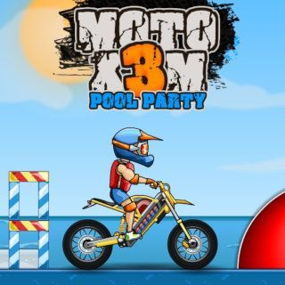 Spielen sie Moto XM Pool Party  🕹️ 🏁