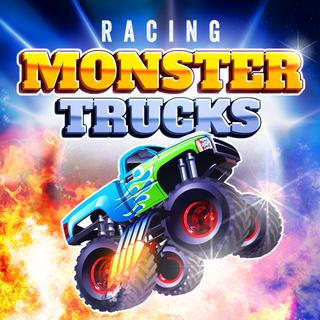 Jugar Racing Monster Trucks  🕹️ 🏁