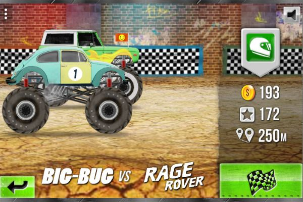 Racing Monster Trucks 🕹️ 🏁 | Free Arcade Racing Browser Game - Image 1