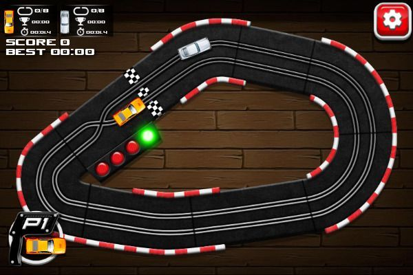 Slot Car Racing 🕹️ 🏁 | Gioco per browser arcade di corse - Immagine 1