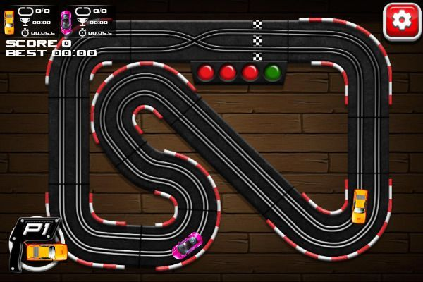Slot Car Racing 🕹️ 🏁 | Gioco per browser arcade di corse - Immagine 3
