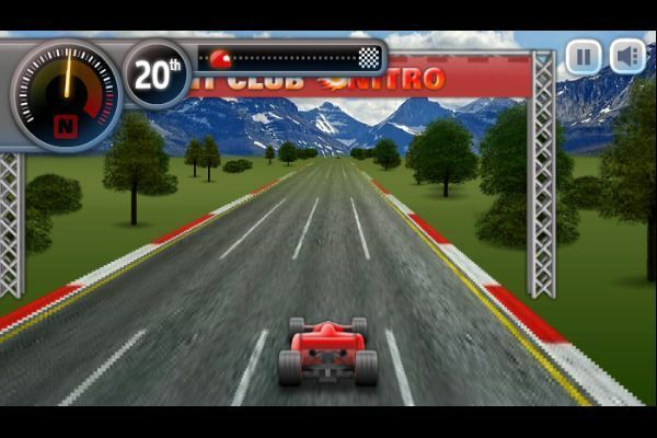 Sprint Club Nitro 🕹️ 🏁 | Free Arcade Racing Browser Game - Image 2