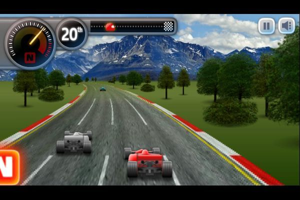 Sprint Club Nitro 🕹️ 🏁 | Free Arcade Racing Browser Game - Image 3