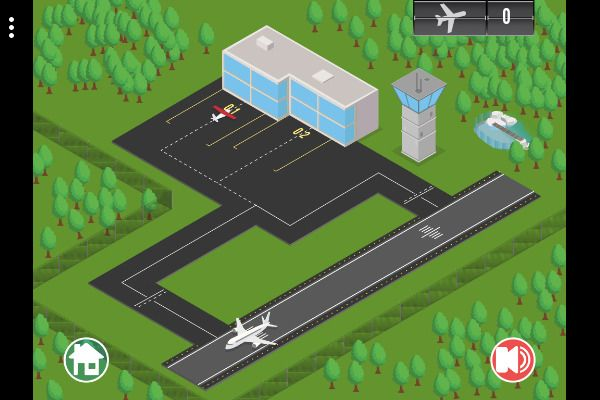 Airport Rush 🕹️ 🏰 | Gioco per browser di logica di strategia - Immagine 1