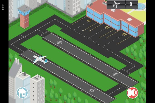 Airport Rush 🕹️ 🏰 | Gioco per browser di logica di strategia - Immagine 2