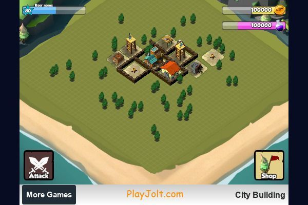 City Building 🕹️ 🏰 | Free Strategy Logic Browser Game - Image 1