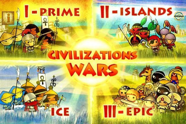 Civilizations Wars Master Edition 🕹️ 🏰 | Free Strategy Skill Browser Game - Image 1