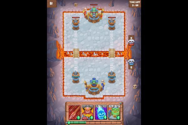 Clash of Warlord Orcs 🕹️ 🏰 | Free Strategy Logic Browser Game - Image 1