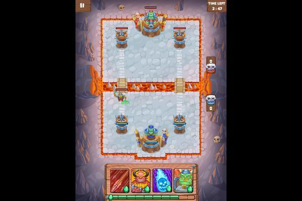 Clash of Warlord Orcs 🕹️ 🏰 | Free Strategy Logic Browser Game - Image 2