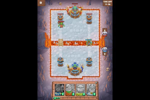 Clash of Warlord Orcs 🕹️ 🏰 | Free Strategy Logic Browser Game - Image 3