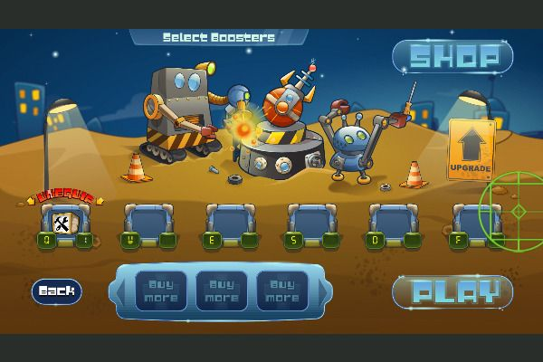 Galactic Missile Defense 🕹️ 🏰 | Free Arcade Strategy Browser Game - Image 1