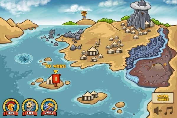 Heroes of Myths 🕹️ 🏰 | Gioco per browser di strategia di logica - Immagine 1
