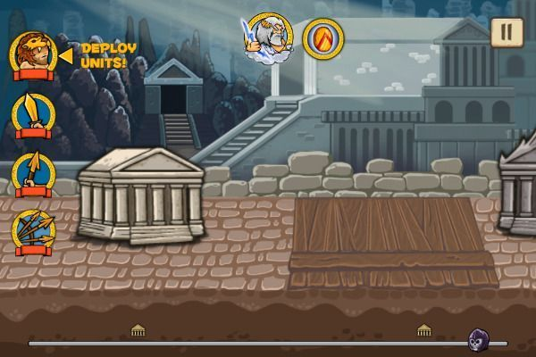 Heroes of Myths 🕹️ 🏰 | Gioco per browser di strategia di logica - Immagine 2