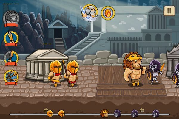 Heroes of Myths 🕹️ 🏰 | Gioco per browser di strategia di logica - Immagine 3