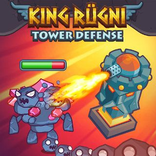 Jugar King Rugni Tower Defense  🕹️ 🏰