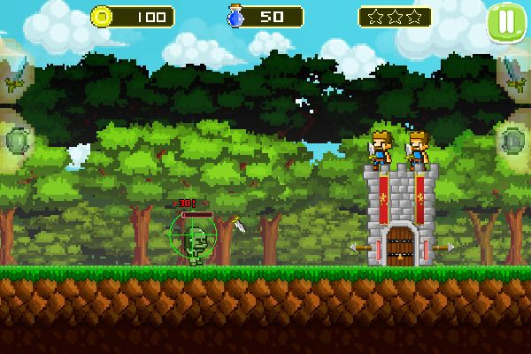 Mini Guardians Castle Defense 🕹️ 🏰 | Free Arcade Strategy Browser Game - Image 1