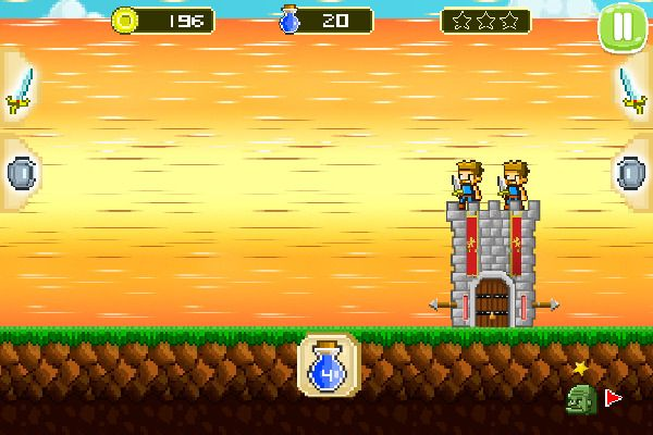Mini Guardians Castle Defense 🕹️ 🏰 | Free Arcade Strategy Browser Game - Image 2