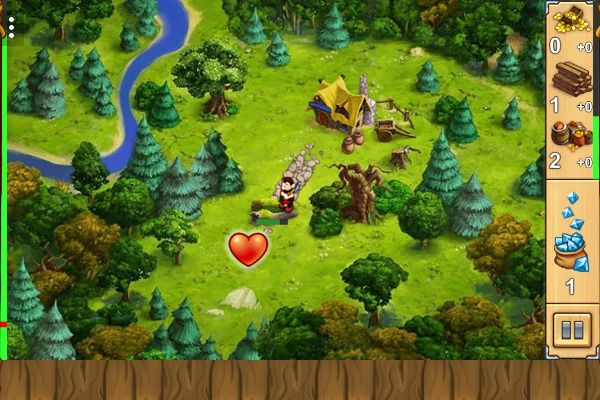 My Kingdom For The Princess 🕹️ 🏰 | Free Adventure Strategy Browser Game - Image 1