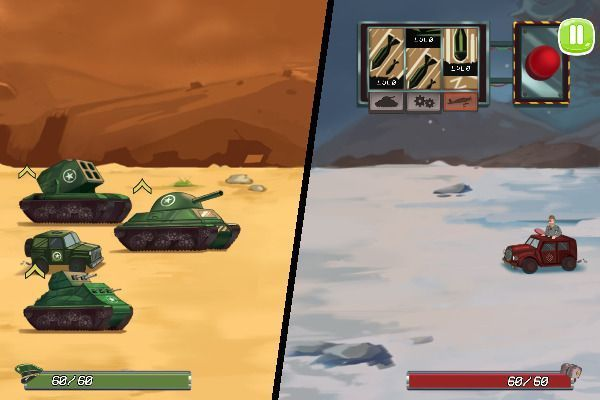 Tank Battle War Commander 🕹️ 🏰 | Free Logic Strategy Browser Game - Image 3