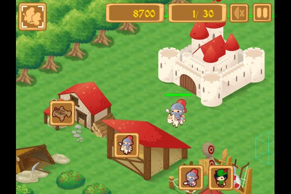 Tiny Battle 🕹️ 🏰 | Free Logic Strategy Browser Game - Image 1