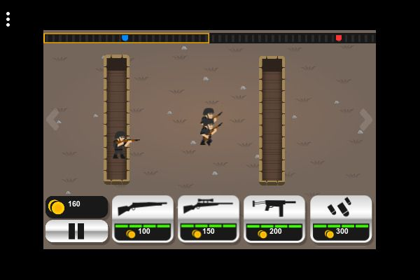 Tiny Rifles 🕹️ 🏰 | Free Strategy Logic Browser Game - Image 1