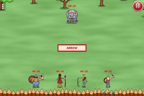 Vikings vs Monsters 🕹️ 🏰 | Free Strategy Adventure Browser Game - Image 2