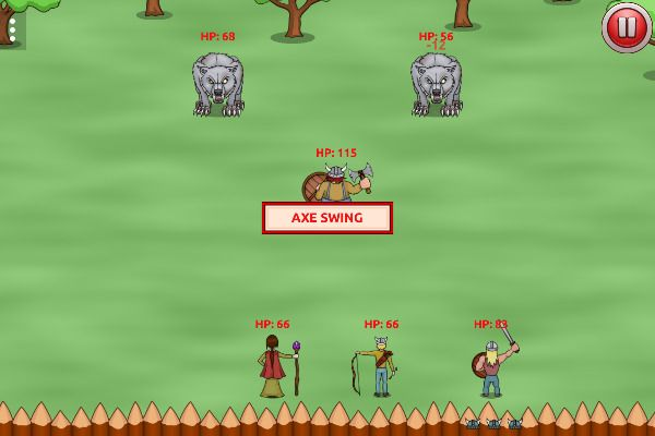 Vikings vs Monsters 🕹️ 🏰 | Free Strategy Adventure Browser Game - Image 3